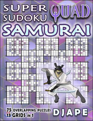 Super Quad Sudoku Samurai