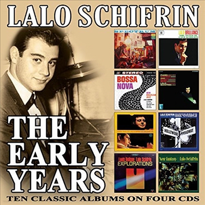 Lalo Schifrin - Early Years (4CD Boxset)