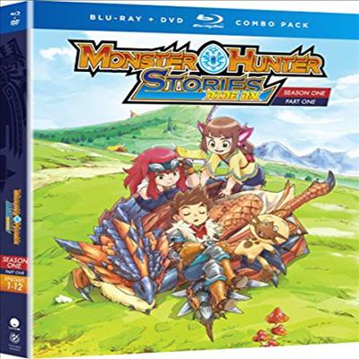 Monster Hunter Stories Ride On: Ssn One - Part One (몬스터헌터 스토리즈)(한글무자막)(Blu-ray+DVD)