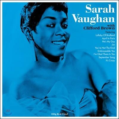 Sarah Vaughan (사라 본) - Sarah Vaughan with Clifford Brown [레드 컬러 LP]