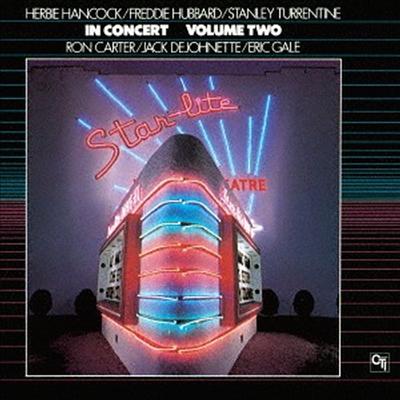 Herbie Hancock/Freddie Hubbard/Stanley Turrentine - In Concert Vol.2 (Remastered)(CTI Jazz Series)(일본반)