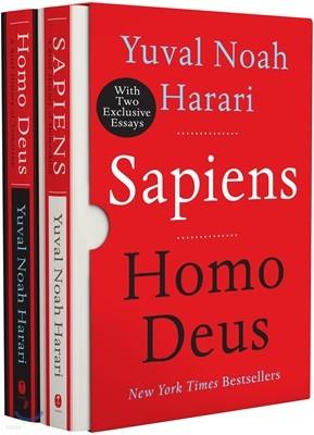 Sapiens & Homo Deus Box Set : 사피엔스, 호모 데우스 원서 2종 박스 세트
