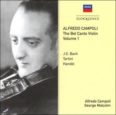 Alfredo Campoli 알프레도 캄폴리 벨 칸토 바이올린 1집 - 바로크 작품집 (The Bel Canto Violin Vol.1)