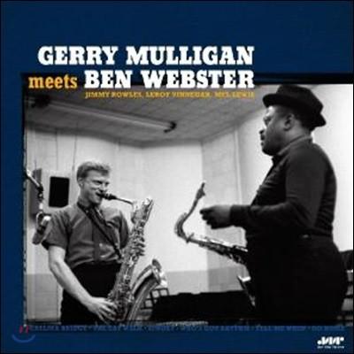 Gerry Mulligan (게리 멀리건) - Meets Ben Webster [LP]