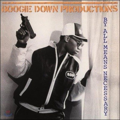 Boogie Down Productions (부기 다운 프로덕션스) - By All Means Necessary [LP]