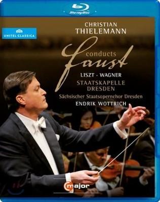 Christian Thielemann 리스트 : 파우스트 교향곡 / 바그너 : 파우스트 서곡 - 틸레만 [블루레이]