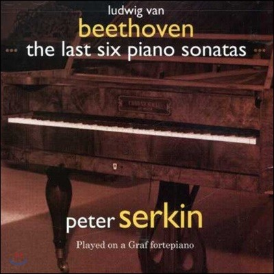 Peter Serkin 베토벤: 피아노 소나타 27-32번 (Beethoven: The Last Six Piano Sonatas)