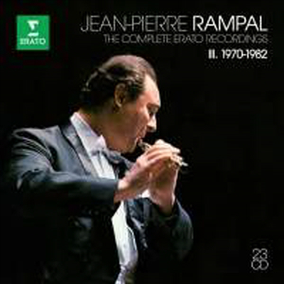 장 피에르 랑팔 - 에라토 녹음 3집 (Jean-Pierre Rampal: The Complete Erato Recordings Vol.3) (23CD Boxset) - Jean-Pierre Rampal