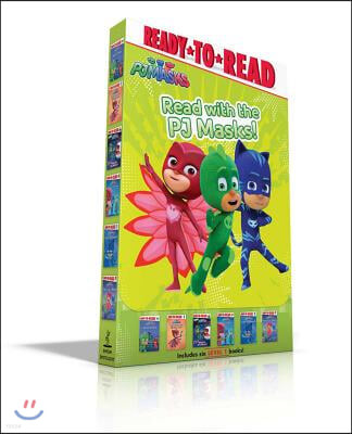 Read with the Pj Masks!: Hero School; Owlette and the Giving Owl; Race to the Moon!; Pj Masks Save the Library!; Super Cat Speed!; Time to Be a