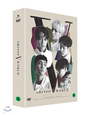 샤이니 (SHINee) - SHINee WORLD V in Seoul DVD
