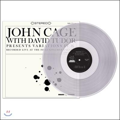 존 케이지: 변주 4 (John Cage: Variations IV) [투명 그레이 컬러 LP]