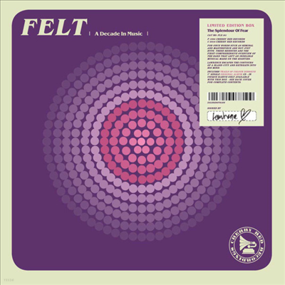 Felt - The Splendour Of Fear (CD+7 inch Single LP Box Set)