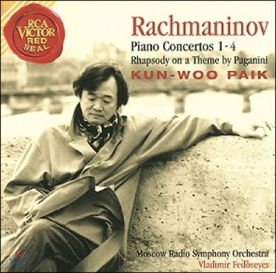 백건우 - 라흐마니노프: 피아노 협주곡 전곡집, 파가니니 주제에 의한 광시곡