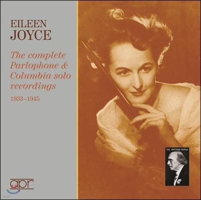 엘린 조이스 팔러폰 & 콜럼비아 솔로 피아노 레코딩 1933-1945 (Eileen Joyce Complete Parlophone & Columbia solo Recordings)