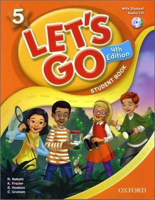 [4판]Let's Go 5 : Student Book with CD