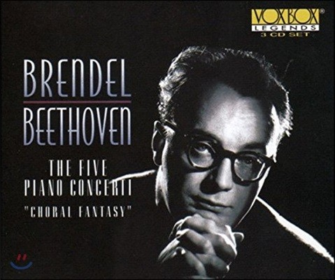 Alfred Brendel 베토벤: 피아노 협주곡 전곡집, 코랄 환상곡 (Beethoven: The 5 Piano Concerti, Choral Fantasy)