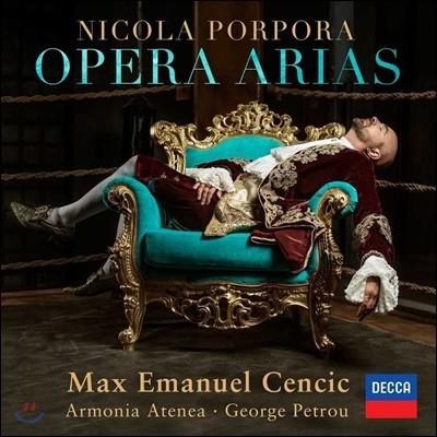 Max Emanuel Cencic 니콜라 포르포라: 오페라 아리아 (Nicola Porpora: Opera Arias)
