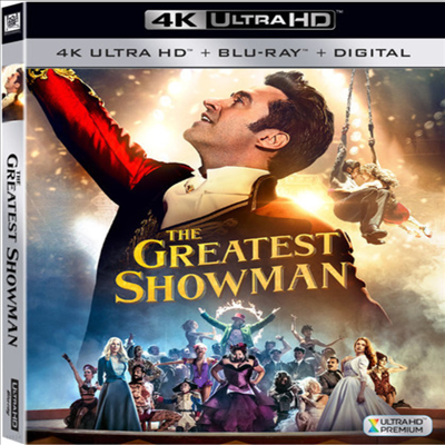 The Greatest Showman (위대한 쇼맨) (2017) (한글무자막)(4K Ultra HD + Blu-ray + Digital)