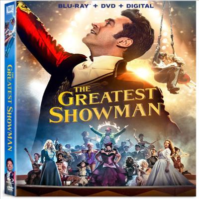 The Greatest Showman (위대한 쇼맨) (2017) (한글무자막)(Blu-ray + DVD + Digital)