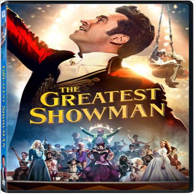 The Greatest Showman (위대한 쇼맨) (2017)(지역코드1)(한글무자막)(DVD)
