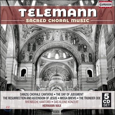 Hermann Max 텔레만: 종교음악 작품집 - 단치히 코랄 칸타타, 심판의 날 외 (Telemann: Sacred Choral Music)
