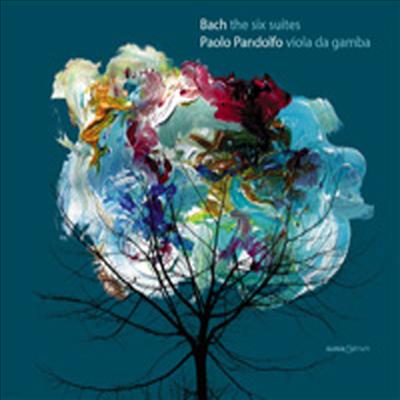 바흐 : 무반주 첼로 조곡 - 비올라 다 감바 연주반 (Bach : The Six Suites For Viola Da Gamba Solo BWV 1007-1012) (2CD) - Paolo Pandolfo