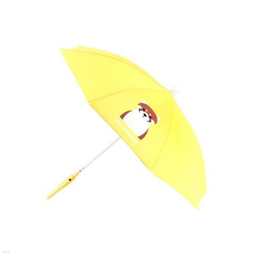 [SAFEGUARD] 세이프가드 아동용 LED 우산 너구리 노란색