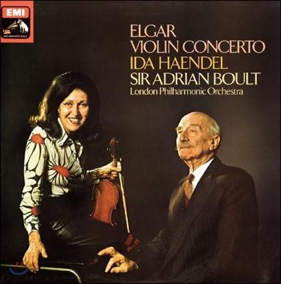 Ida Haendel 엘가: 바이올린 협주곡 - 이다 헨델 (Elgar: Violin Concerto) [LP]