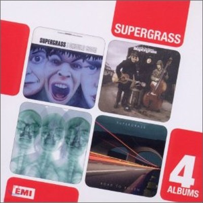 Supergrass - 4 Albums