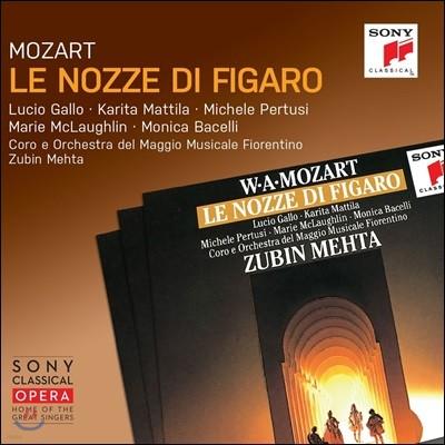 Zubin Mehta / Lucio Gallo 모차르트: 오페라 '피가로의 결혼' (Mozart: Le Nozze di Figaro)