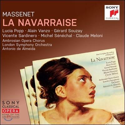 Lucia Popp / Antonio de Almeida 마스네: 나바라의 여인 (Massenet: La Navarraise)