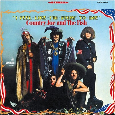 Country Joe & The Fish (컨트리 조 앤 더 피쉬) - I-Feel-Like-I'm-Fixin'-To-Die [LP]