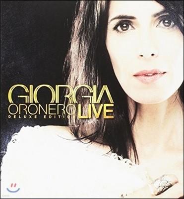 Giorgia (지오르지아) - Oronero Live [Deluxe Edition]