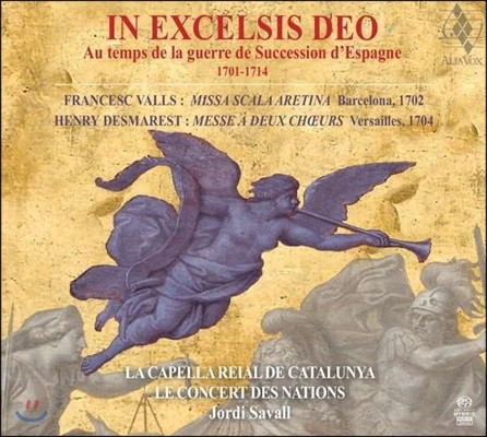 Jordi Savall 인 엑첼시스 데오 / 스페인의 왕위 계승 전쟁 시기의 음악 - 조르디 사발