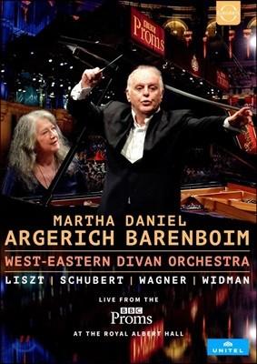 Martha Argerich / Daniel Barenboim 2016 BBC 프롬스 - 아르헤리치와 바렌보임 (BBC Proms 2016)