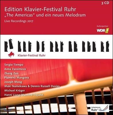 루르 피아노 페스티벌 36집 [2017년] - 아메리카 (Edition Klavier-Festival Ruhr 2017 - The Americas)