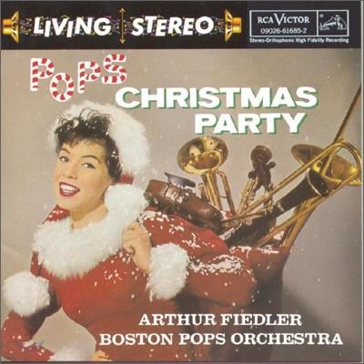 팝스 크리스마스 파티 (Pops Christmas Party) - 보스턴 팝스 오케스트라, 아서 피들러