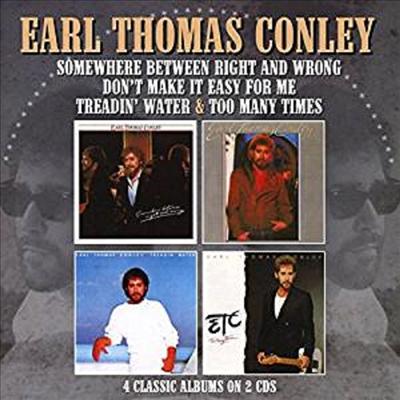 Earl Thomas Conley - Treadin' Water/Too Many (2CD)