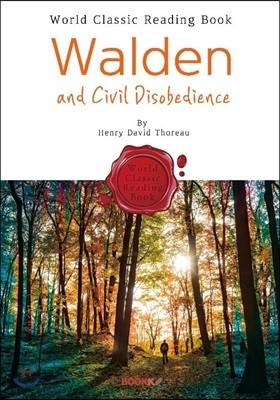 월든, 숲속의 생활 : Walden and Civil Disobedience (영어 원서)