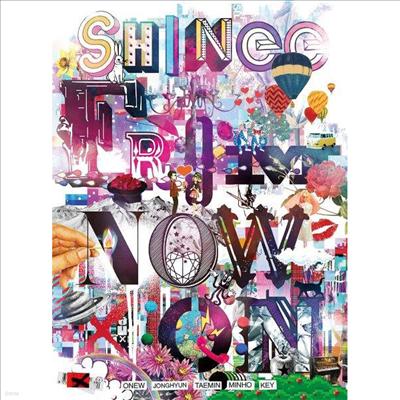 샤이니 (SHINee) - The Best From Now On (2CD+1Blu-ray+Photo Booklet) (완전생산한정반 A)