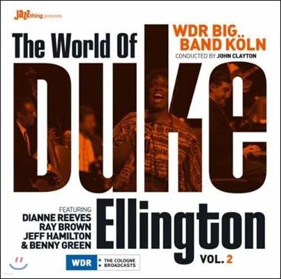 WDR Big Band (WDR 빅밴드) - The World Of Duke Ellington Vol.2 [LP]