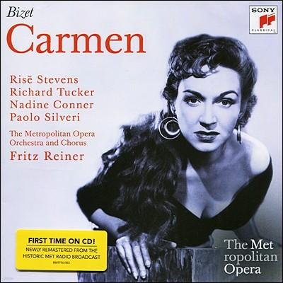 비제 : 카르멘 (메트로폴리탄 오페라) - 스티븐슨, 터커, 라이너