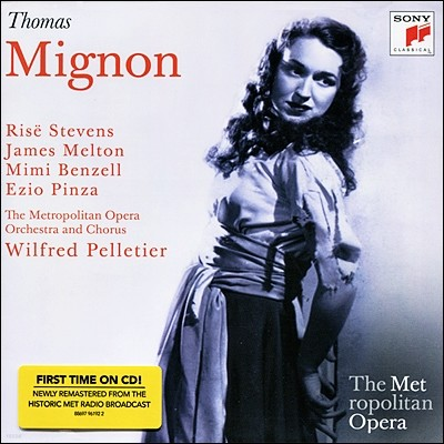 Metropolitan Opera Orchestra 토마스: 미뇽 (메트로폴리탄 오페라) (Thomas : Mignon)