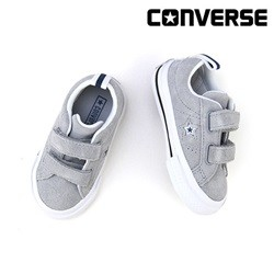 [컨버스키즈] ONE STAR 2V OX WOLF GREY/WHITE/NAVY 760008C (베이비)