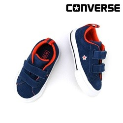 [컨버스키즈] ONE STAR 2V OX NAVY/WHITE/BRIGHT POPPY 760009C (베이비)