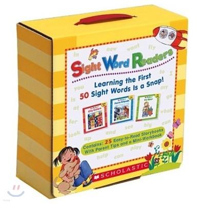 스콜라스틱 사이트 워드 리더스 Scholastic Sight Word Readers Box Pack