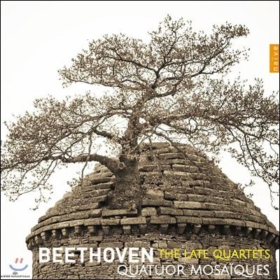 Quatuor Mosaiques 베토벤: 후기 현악 사중주집 12-16번 - 모자이크 사중주단 (Beethoven: The Late Quartets)