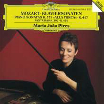 모차르트: 피아노 소나타 11, 14번, 환상곡 (Mozart: Piano Sonatas K.457, K.331 `Alla Turca`, Fantasia K.475, K.397) - Maria Joao Pires