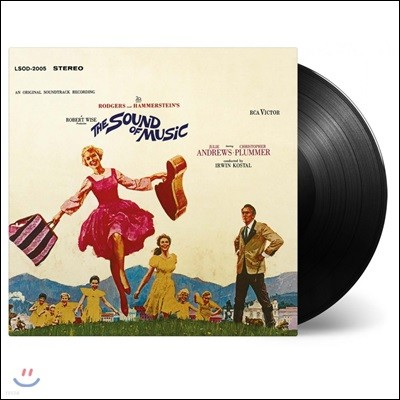 사운드 오브 뮤직 영화음악 (The Sound of Music OST by Richard Rodgers & Oscar Hammerstein) [LP]