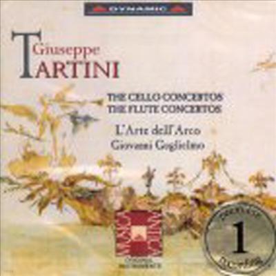 타르티니 : 첼로협주곡, 플루트협주곡 (Tartini : Cello & Flute Concertos) - L'Arte Dell'Arco